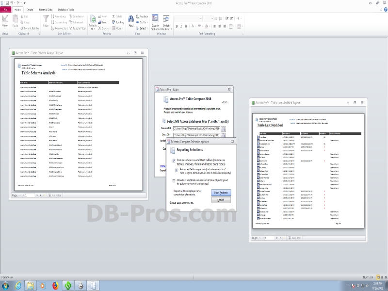 Access Pro Table Compare 2.5.3