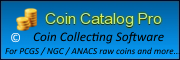 Makers of Coin Catalog Pro Coin Collecting Software