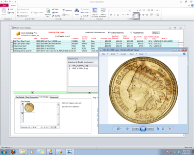 Coin Catalog Pro™ - Coin Collecting Database Software