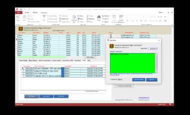 Violation Tracking Database Software™ Screenshot