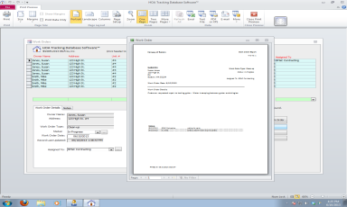 HOA Condo Association Database Software Work Order Management