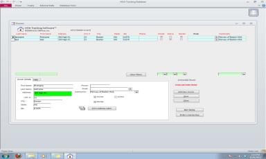 Click to view HOA Tracking Database Software 2.3.2 screenshot